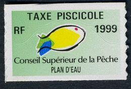 Timbre Fiscal De Pêche Neuf - Plan D'Eau - 1999 - Fiscales