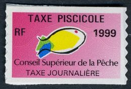 Timbre Fiscal De Pêche Neuf - Taxe Journalière - 1999 - Fiscales