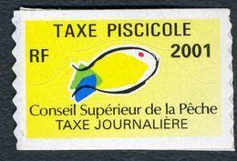 Timbre Fiscal De Pêche Neuf - Taxe Journalière - 2001 - Fiscales