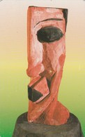 "Luxembourg - Art Contemporain - ""Chêne Polychrome"" - SC11 - Luxembourg"