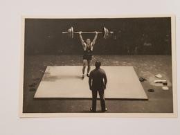 Olympia 1932 - Louis Hostin - Halterophilie - Weightlifting - Sport