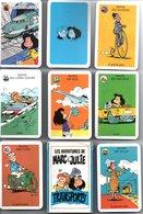 Jeu De 7 Familles Les Aventures De Marc Et Julie Transport - TBE - Carte Da Gioco