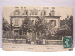 CPA 90 TERRITOIRE DE BELFORT LE VALDOIE PHARMACIE JOACHIM 517 - Valdoie