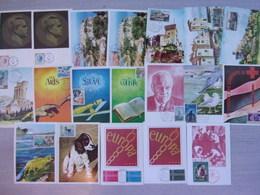 MONACO CARTES MAXIMUM 1971, YVERT 847/66 - Cartoline Maximum