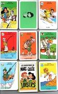 Jeu De 7 Familles Les Aventures De Marc Et Julie Loisirs - TBE - Carte Da Gioco