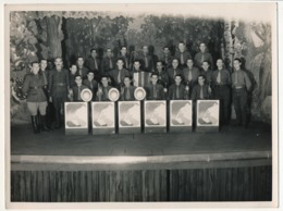 Photographie Originale 18 X 24 - Orchestre De Variétés / Militaires - Guerra, Militari