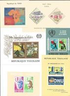 Francobolli Stamps Tibres Republique Togolaise - Francobolli