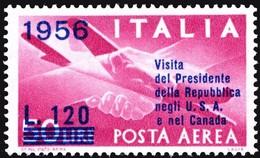 1956 - Visita Presidente- MNH**- Yv.140 - Sas.153 - 6. 1946-.. Republic