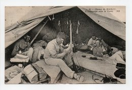 - CPA Champ De MAILLY (10) - L'Astiquage Sous La Tente 1913 (belle Animation) - Photo Neurdein N° 95 - - Mailly-le-Camp
