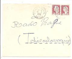 Algerie Surchargé EA. OULED DJELLAL/BATNA (R17) 18.7.62 - Briefe U. Dokumente