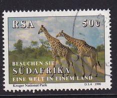 RSA 1990, Giraffe, Minr 806, Vfu - Sud Africa (1961-...)