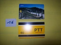 TELECARTE - TURQUIE - Efes  - Dos PTT Cagdas Hizmet  60 - Voir Photo ( 16 ) - Turkey