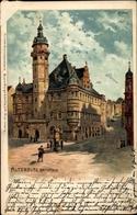 Lithographie Altenburg In Thüringen, Rathaus, Bruno Bürger 2062 - Duitsland