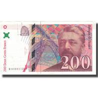 France, 200 Francs, Eiffel, 1996, 1996, TTB, Fayette:75.3b, KM:159b - 1992-2000 Ultima Gama