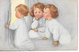 Children, Kinder, Enfants, Looking Through The Window, Regarder Par La Fenetre, Schauen Durch Das Fenster - Fantasia