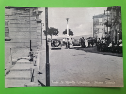 Cartolina - Torre Le Nocelle (Avellino) - Piazza Vittorio - 1950 Ca. - Avellino