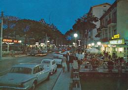 MILANO MARITTIMA - CERVIA - RAVENNA - CENTRAL BAR CON INSEGNA PUBBLICITARIA BIRRA WUNSTER - AUTO - 1972 - Ravenna
