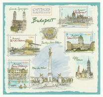 Phil@poste 2019 : Carte Pré-timbrée : Capitale Européenne Budapest - Autres