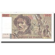 France, 100 Francs, Delacroix, 1995, TTB, Fayette:69.2c), KM:154h - 1962-1997 ''Francs''