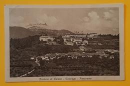 Cartolina Dintorni Di Varese - Casciago - Panorama - 1921 - Varese