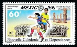 NOUV.-CALEDONIE 1986 - Yv. 518 **   Faciale= 0,50 EUR - Mondial De Football Mexico'86  ..Réf.NCE25228 - Neufs