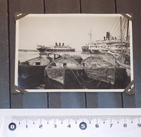 PHOTO SYRIE, BEYROUTH, LE PORT. 1927 - Lugares