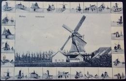 MOULIN A VENT - MOLEN - WINDMILL - WIND MILL - 1911 Gelderland Multi View Card - Netherlands Holland Pays-Bas - Windmolens