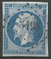 FRANCE - Oblitération Petits Chiffres LP 3198 St-MARTIN-DE-VALAMAS (Ardèche) - 1849-1876: Période Classique