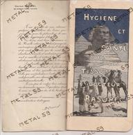 Catalogue Flanelles à Mailles En Laine Et Tourbe Du Docteur Rasurel à Lyon, Distribué Par Loir-Berger à Landrecies - Other