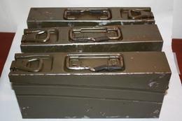 Caisse De Munitions MG-3 Allemande, état Moyen / Ammo Box - Equipement