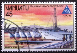 VANUATU                         N° 719                          OBLITERE - Vanuatu (1980-...)