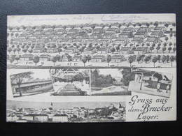 AK BRUCK A.d.Leitha Brucker Lager Ca.1915 ///  D*41344 - Bruck An Der Leitha