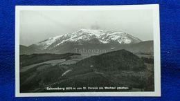Schneeberg Von St Corona Am Wechsel Gesehen Austria - Neunkirchen