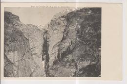 CPA-04-Alpes De Haute Provence- Le Pont Du CASTELET- 105 M De Hauteur- - Francia
