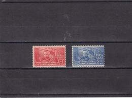 Cuba Nº 255 Al 256 Con Charnela - Unused Stamps