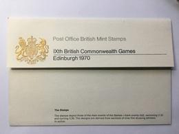 GB 1970 Commonwealth Games Presentation Pack - 1952-.... (Elizabeth II)