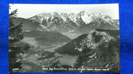 Blick Geg. Schneeberg Von Der Hohen Wand Austria - Neunkirchen