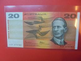 AUSTRALIE 20$ 1974-94 CIRCULER (B.10) - Decimal Government Issues 1966-...