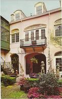 Etats-unis   History Of Dickson's Antique Maison    Mansion Montegut - Etats-Unis