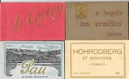 Lot De 21 Pochettes - Pochette, Carnet 290 CPA: St Quay, Aix Les Bains, Libourne, Le Crotoy, Lisieux, Briançon... - Postcards