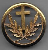 Aumonier Militaire Catholique - Insigne De Béret Coinderoux - Army
