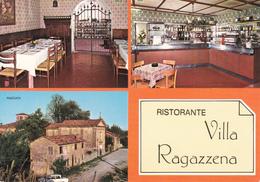 CASTIGLIONE DI CERVIA - RAVENNA - 3 VEDUTE - RISTORANTE VILLA RAGAZZENA - BAR CON MACCHINA DEL CAFFE' - Ravenna