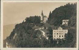 Ansichtskarte Morschach Straße, Villa, Hotel Rütliblick 1928 - SZ Schwyz