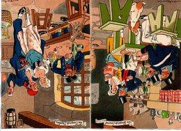 Illustrateur : Jack : Lot De 2 Cartes Barré-dayez : Nos Marins  1361 E Et F De 1945 - Illustrators & Photographers