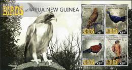 Papua New Guinea 2017. Rare Birds Of Papua New Guinea (MNH OG) Miniature Sheet - Papua New Guinea