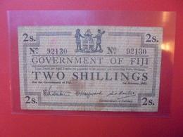 FIJI 2 SHILLINGS 1942 CIRCULER (B.10) - Fidji