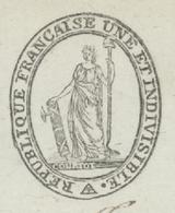 Héraldique Rhinau An 5 - 21.2.1797 Armée Du Rhin Et Moselle Le Conseil D'Administration De La 3e Demi-Brigade - Documents Historiques