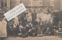 ROANNE -  Hôpital Militaire N° 25 ? En 1914 ( Carte-photo ) - Roanne