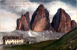 Drei Zinnen Mit Hütte, Sextner Dolomiten, Tirol (637) * 21. 8. 1911 - Non Classificati