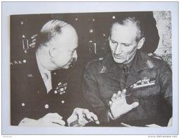 France D Day 6 Juin 1944 Jour J Général Eisenhower Et Montgommery Cliché Public Archives Of Canada - Guerre 1939-45